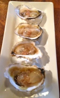 Oysters ($3 each)