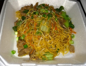 Beef and Noodle ($8.99)