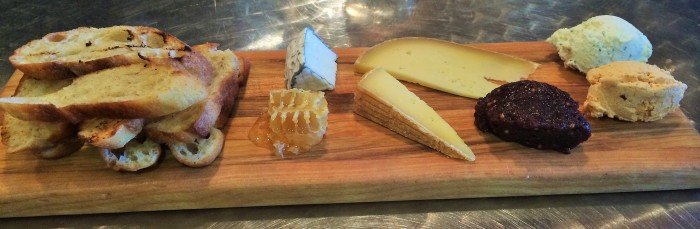 cheese board ($16)