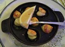Escargots Bourguigonne ($9.95)