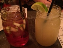 Sangria ($6 drink/$24 pitcher) and The Bakersfield Margarita ($6
