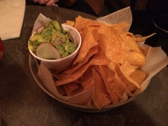 Chips and Guacamole ($6)