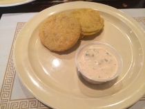 Fried Green Tomatoes ($3.49)