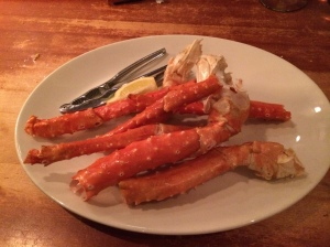 Alaskan King Crab Legs ($29.99/lb)