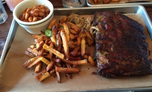 Ribs and One Meat ($24.95)